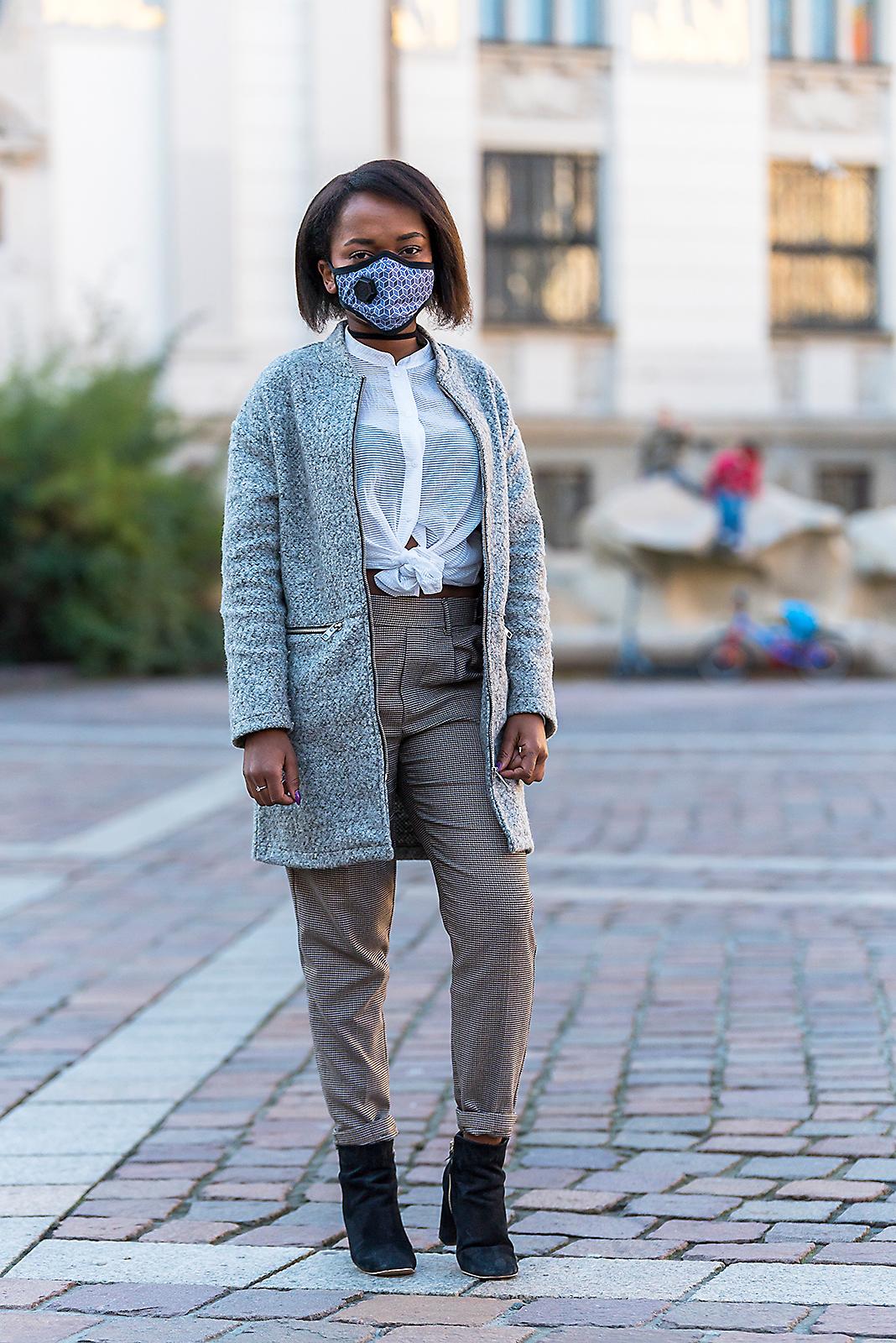 Moda maski antysmogowe